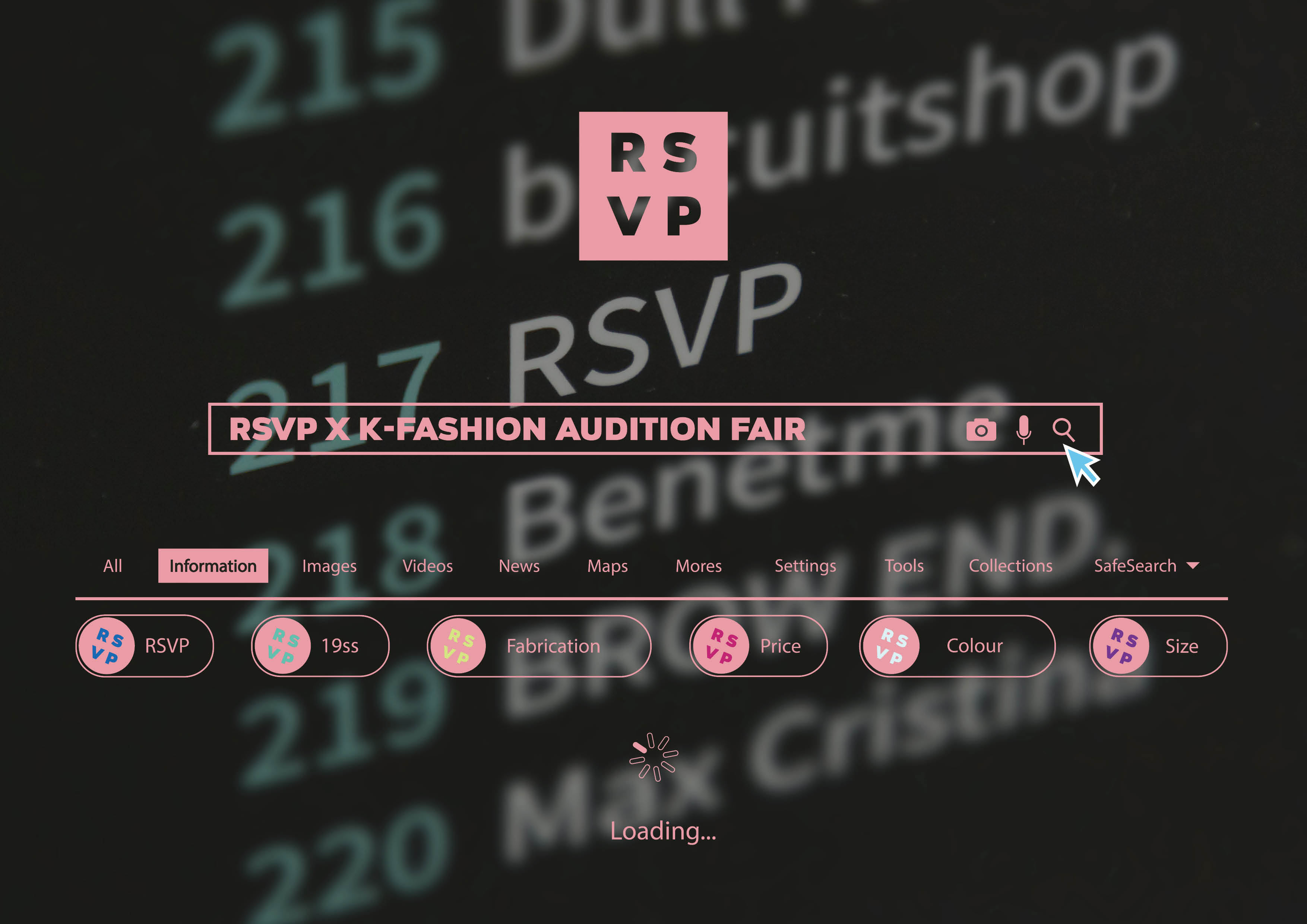 RSVP X K FASHION AUDITION TREND FAIR