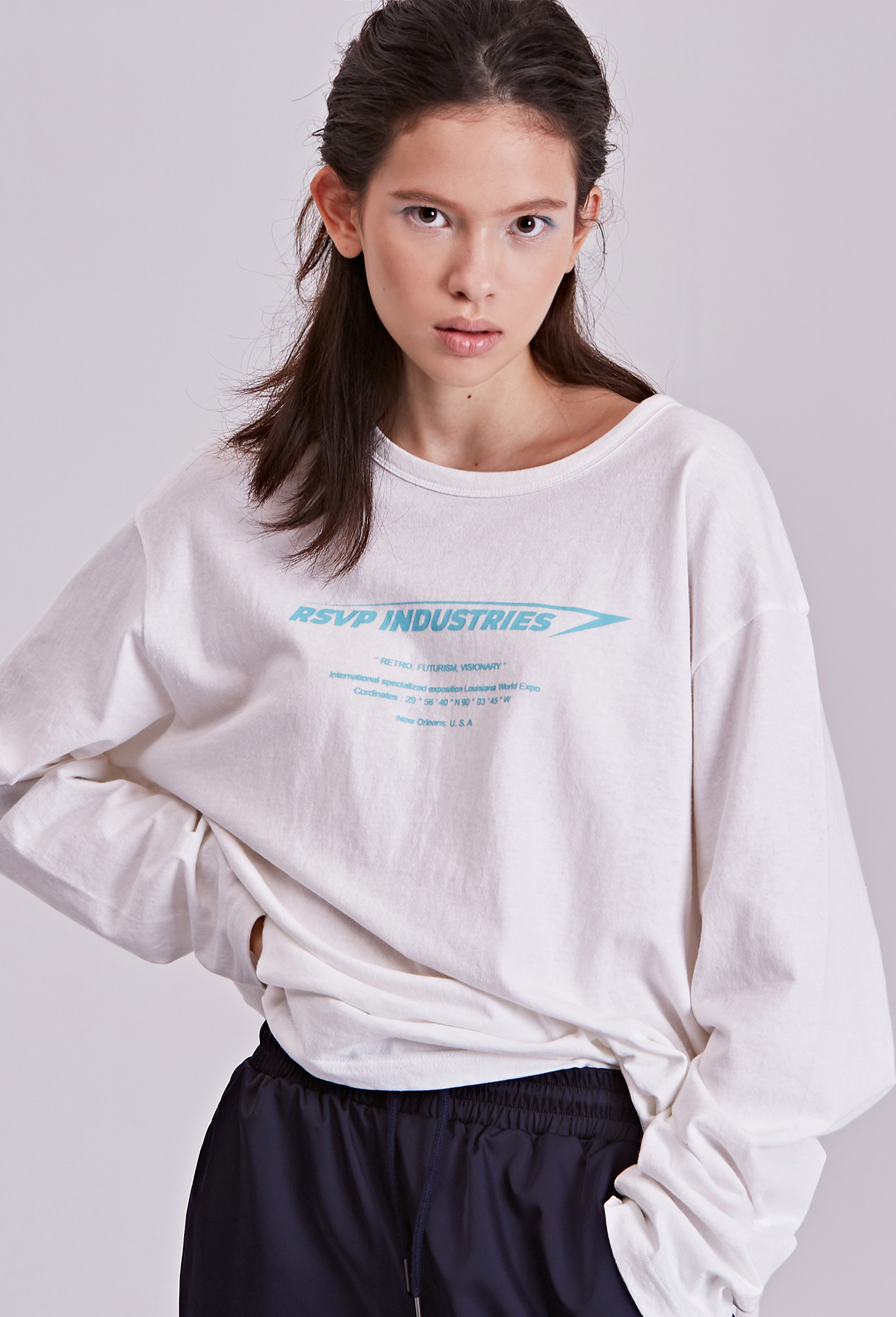 RSVP INDUSTRIES LONG SLEEVES (WHITE)